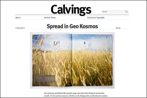 Calvings keyline