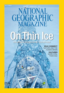 National Geographic Cover by Nick Cobbing